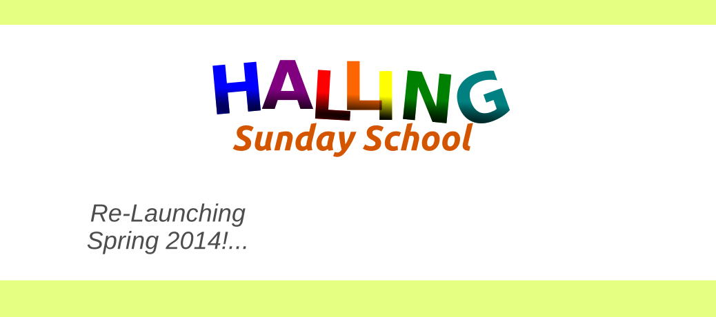 Sunday School 2014