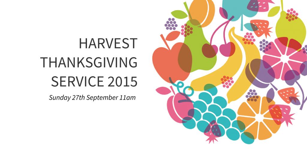 Harvest Thanksgiving Service 2015