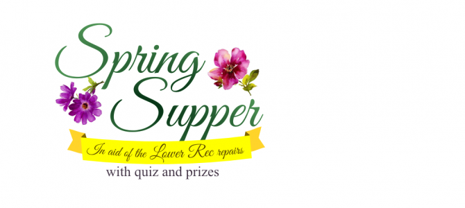 2016 Spring Supper