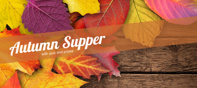 2016 Autumn Supper