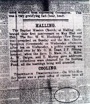 Rochester_news_Halling_Chapel_1